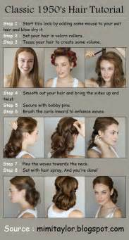 Gallery images and information easy 1950s hairstyles for long hair