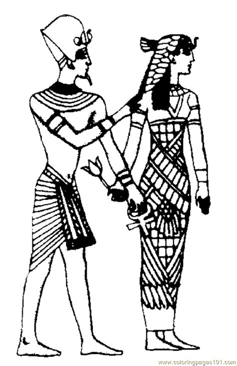 printable egyptian art free coloring pages of ancient egypt education