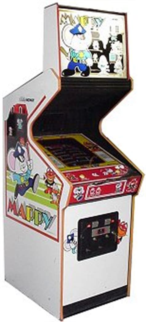 Mappy Arcade Cabinet by Mappy Phosphor Dot Fossils