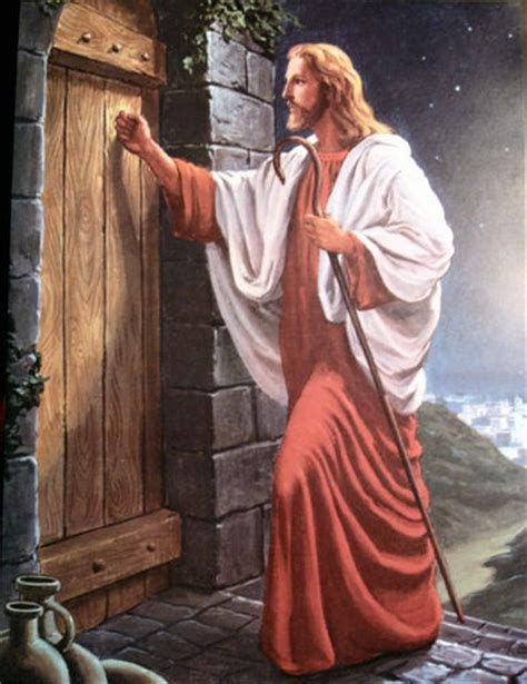 Jesus Knocking At The Door Meaning by Jesus Knocking At The Door Spiritual And Inspiring