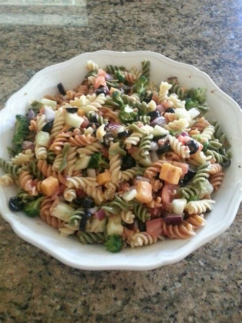 cold pasta dish cold pasta dish yum yum pinterest dishes cold