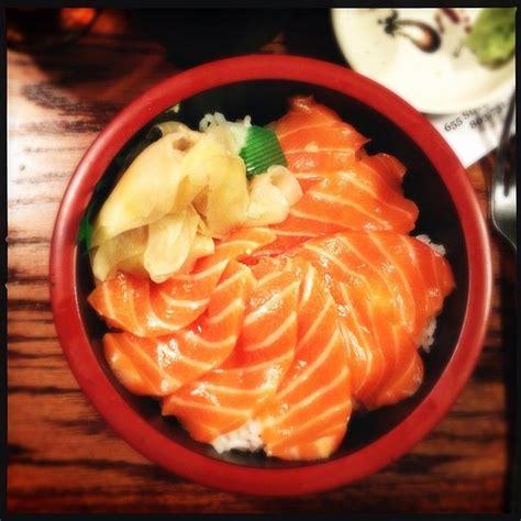Todays Special Sake Salmon And Rice by Sake Don Sakana House Barrie On