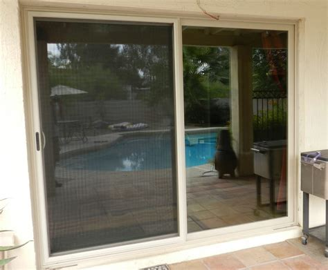 Simonton Sliding Glass Doors Simonton Madeira Sliding Contemporary Style Door Color Pro Solar Shade Low E Glass Yelp