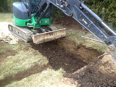drainage solutions gorman landscape contractors