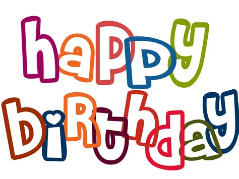 happy birthday clipart clipart happy birthday clipart