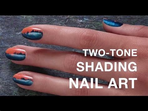 Shading Sephora two tone shading nail tutorial with the jinsoon tess