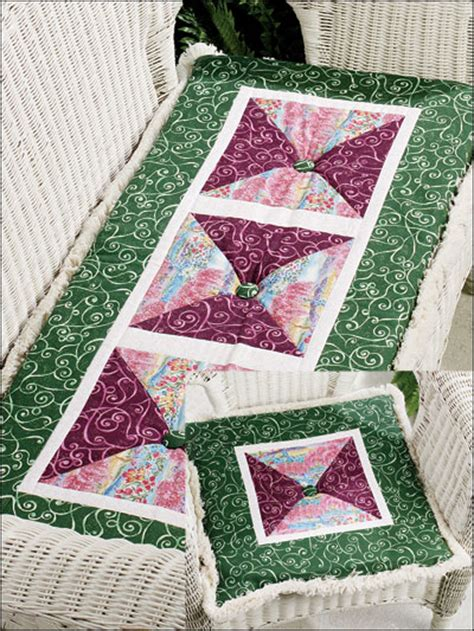Pillow Quilt Patterns Free by Free Pillow Quilting Patterns Garden Cushion Set