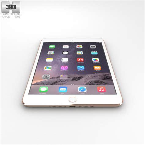 Apple 3 Mini apple mini 3 gold 3d model hum3d