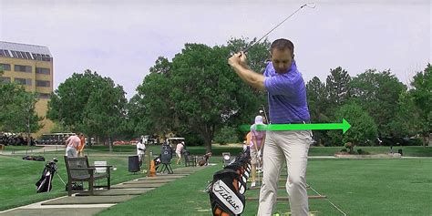 golf swing lessons golf lesson series swingtru motion study in the