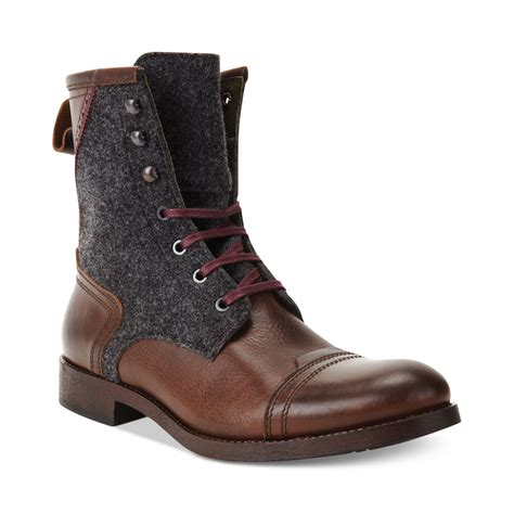 kenneth cole boots mens kenneth cole brush it boots in brown for brown