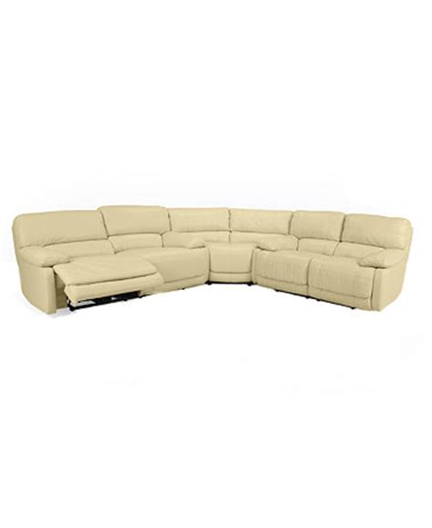 Wedge Sofa Sectional by Leather 3 Power Reclining Sectional Sofa Sofa