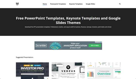 4 Sites With Free Beautiful Powerpoint Templates Keynotes Paid Powerpoint Templates