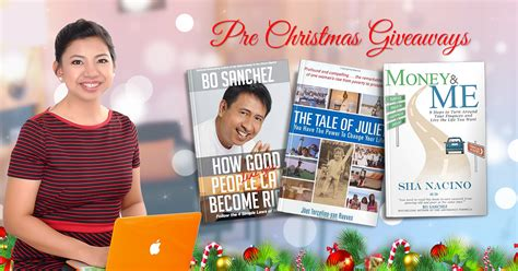 Book Giveaways Philippines - pre christmas books giveaways