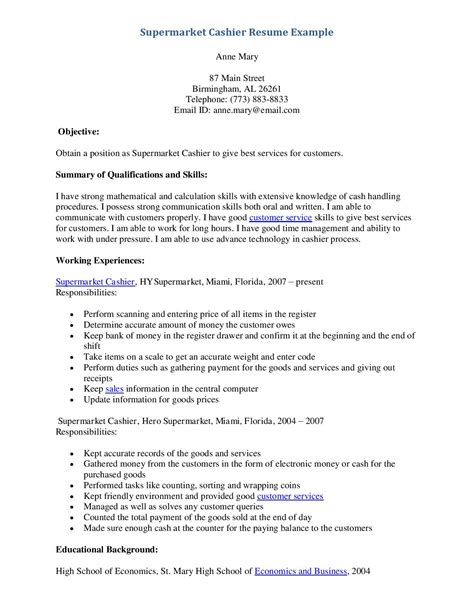 Resume Sle For Cashier Retail Store Development Resume Sales Retail Lewesmr
