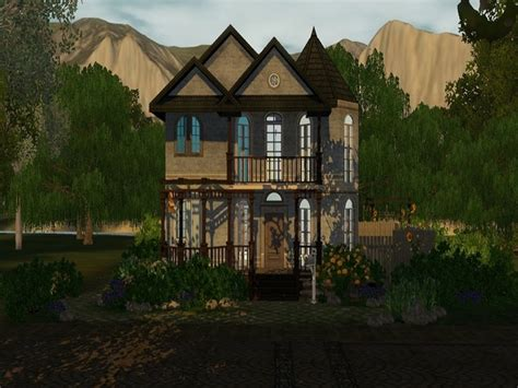old fashioned house the sims resource the old fashioned house by goopycarbon