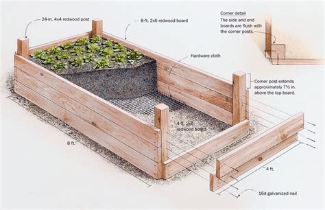 A Raised Garden Bed by Raised Garden Beds Ideas For Growing Images