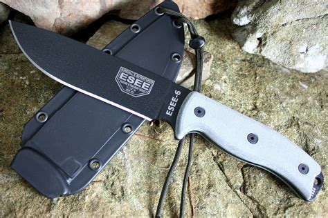 esee 6 survival knife my detailed esee 6 survival knife review best survival