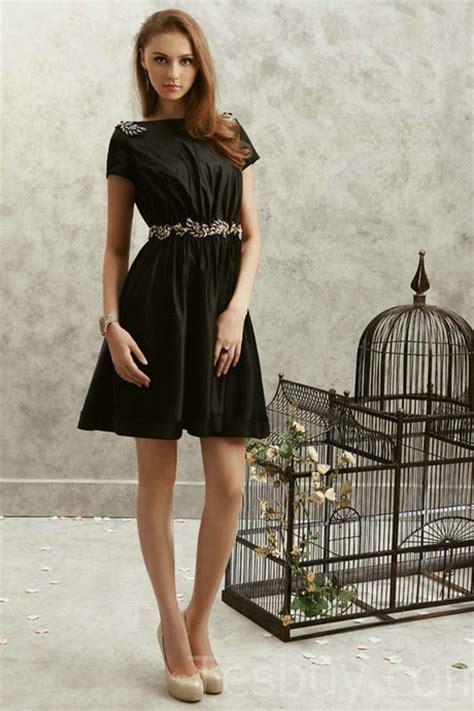 black dress juniors