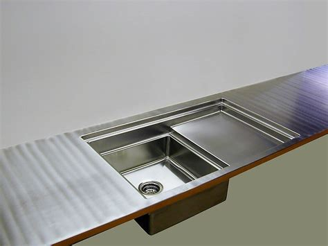 Stainless Steel Countertop With Sink by Stainless Steel Countertops Custom