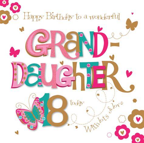 granddaughter card granddaughter 18th birthday greeting card cards kates