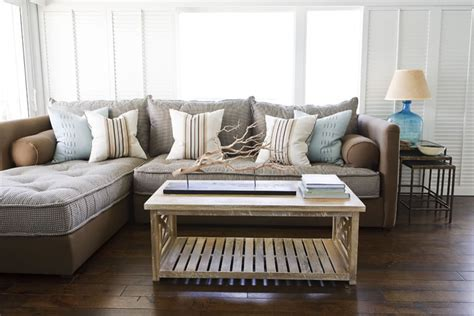 beachy sectional sofas sumptuous tufted sectional in living room contemporary