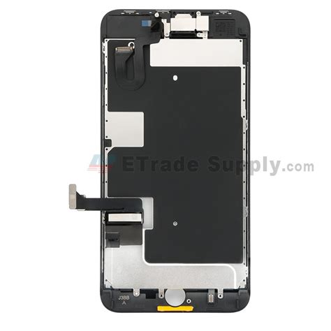 apple iphone 8 plus lcd screen and digitizer assembly with frame and small parts without home