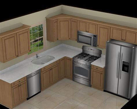 10x10 Kitchen Designs With Island by Best 25 Small L Shaped Kitchens Ideas On Pinterest