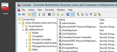 active directory management console configure mmc snap ins on fresh windows 7 install