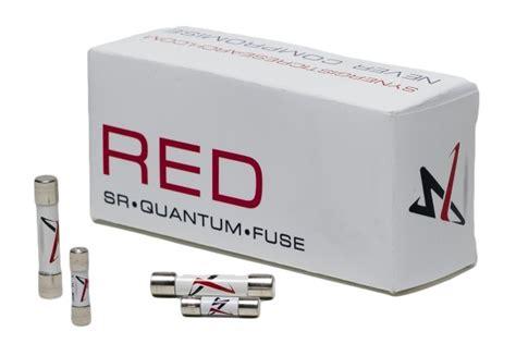 synergistic research 5 x 20mm sr 20 quantum fuse f 2 5a ebay