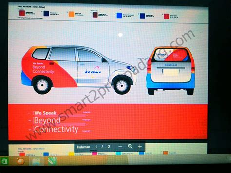Stiker Ritrama Outdoor branding mobil