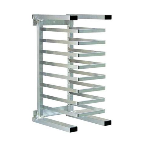 new age 99309 20 38 quot w 20 pizza pan rack w 2 375 quot bottom