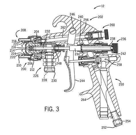 spray painting mechanism patent us7311271 spray gun mechanism for