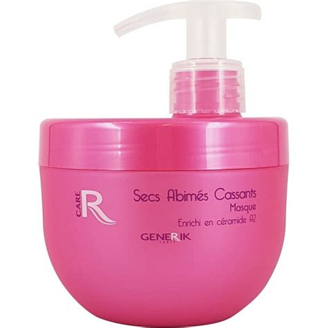 masque generik cheveux secs ab 238 m 233 s et cassants 500 ml