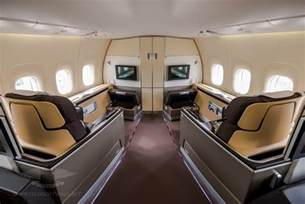 inside the lufthansa boeing 747 8i