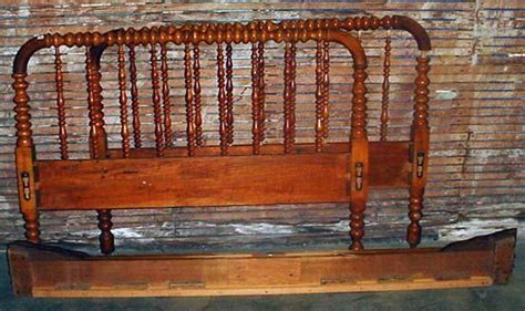 antique spindle bed vintage wooden spindle bed double size headboa