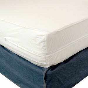 queen size  allergenic mattress cover zippered waterproof bed bug protector ebay