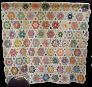 quilt inspiration grandmother s flower garden