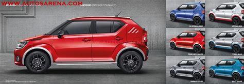Suzuki Accessories Personalization Options With Genuine Maruti Suzuki Ignis