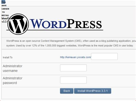 tutorial membuat website gratis di wordpress tutorial cara mudah membuat website gratis info lengkap