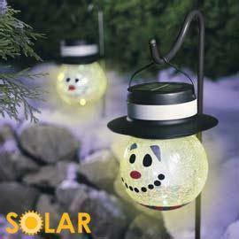 snowman solar light garden stakes solar lights solar and snowman on