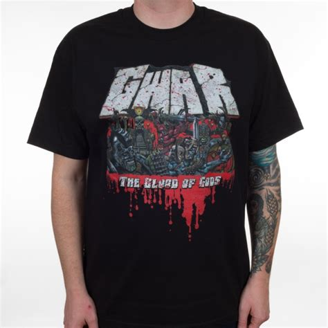 Blood Of Gods gwar quot the blood of gods quot t shirt indiemerchstore