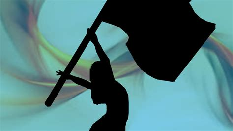 color guard flag color guard flag silhouette www imgkid the image
