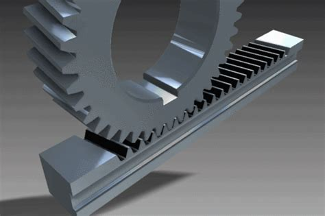 Gear And Rack Design by Type Of Gears 12cad