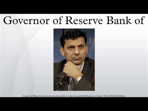 governor of bank of governor of reserve bank of india