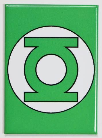 green lantern logo fridge magnet justice league dc