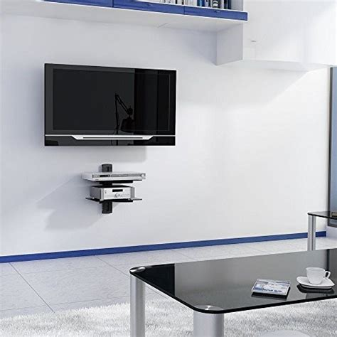Flat Screen Tv Wall Mount With Shelf by 2xhome New Tv Wall Mount Bracket Dual Arm Hdmi Cable