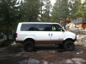 purchase used 4x4 astro v8 cer in truckee