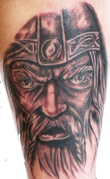 viking skull tattoos viking tattoos