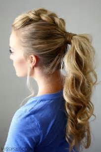 ponytail styles for hair 10 easy ponytail hairstyles long hair style ideas 2016 2017