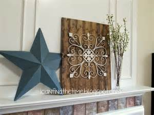 Wood And Metal Wall Decor by Wood And Metal Wall